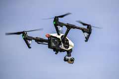 Drones. The drones are unmanned vehicles royalty free stock photography