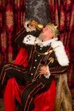 Dronken royalty Royalty-vrije Stock Fotografie