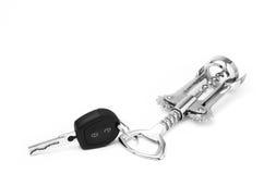 Dronken sleutels Stock Foto