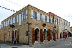 Dronningens Gade, Charlotte Amalie, US Virgin Islands Royalty Free Stock Photos