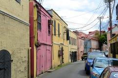 Dronningens Gade, Charlotte Amalie, US Virgin Islands Royalty Free Stock Photography