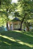 Dronningparken en parque real del lugar en Oslo Noruega fotografía de archivo