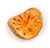Droog Bael-fruit royalty-vrije stock fotografie