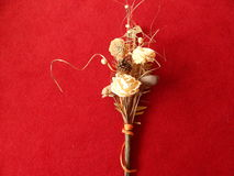 Droog boeket van bloem Stock Foto