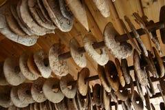 Droog brood Stock Foto's