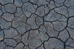 Droog Gebarsten Aarde Stock Foto's