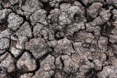 droog gebarsten grond voor achtergrond en ontwerp Stock Foto's