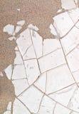 Droog gebarsten moddertextuur Stock Fotografie