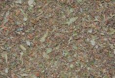 Droog Linden Leaves Tea Texture Stock Foto