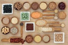 Droog Macrobiotisch Dieetvoedsel Royalty-vrije Stock Foto's