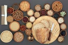 Droog Macrobiotisch Gezond Voedsel stock fotografie