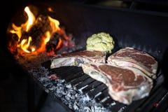 Droog oud vlees Royalty-vrije Stock Afbeeldingen