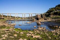 Droog reservoir II Royalty-vrije Stock Afbeeldingen