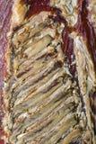 Droog Rib Bacon Royalty-vrije Stock Afbeeldingen