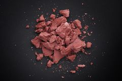 Droog Rood Clay Heap Royalty-vrije Stock Foto