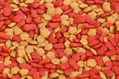 Droog voedsel voor huisdieren voor patroon en achtergrond Royalty-vrije Stock Afbeeldingen