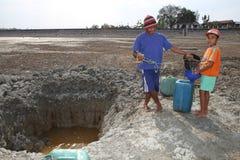 Droogte in Indonesië Royalty-vrije Stock Afbeeldingen