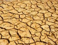 Droogteland, klimaatverandering, de hete zomer royalty-vrije stock foto's