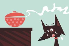 Drooling Dog Stock Images