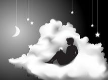 droom vector illustratie