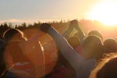 Droom over de zon Stock Afbeelding