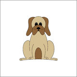 Droopy dog  Royalty Free Stock Image