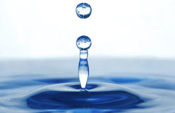 A drop Royalty Free Stock Image