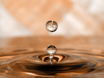 A drop Royalty Free Stock Photos
