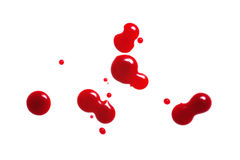 Drop of blood Stock Image