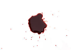 Drop of blood Stock Photography