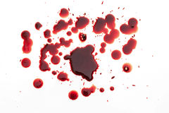 Drop of blood Royalty Free Stock Image