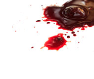 Drop of blood Royalty Free Stock Photo