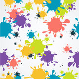 Drop Blot Background Seamless. Vector Stock Photo