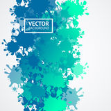 Drop Blot Background. Vector Royalty Free Stock Image