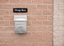 Drop Box Royalty Free Stock Images