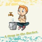 Drop in the bucket Stock Photos