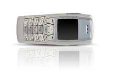 Drop cell phone Royalty Free Stock Photography