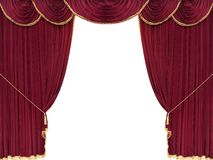 Drop curtain Stock Image