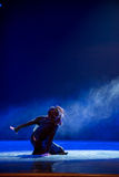Drop into the dust-Modern dance Royalty Free Stock Photo