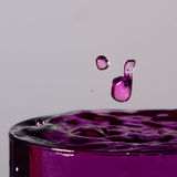 drop frozen water Στοκ φωτογραφία με δικαίωμα ελεύθερης χρήσης