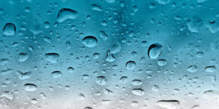 DROP ON GLASS stock images