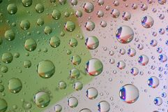 Drop on the glass Royalty Free Stock Images