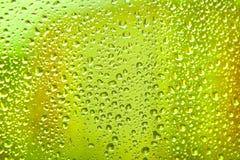 Drop on glass Stock Photos