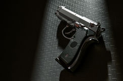 Drop gun. Stock Image