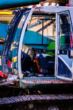 Drop Hammer Pile Driver Control Cabin Royalty Free Stock Photos