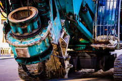 Drop Hammer Pile Driver Stock Images