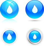 Drop icons. Stock Photography