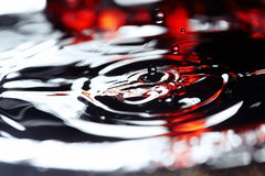 Drop in liquid Royalty Free Stock Photography
