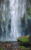 The drop of Multnomah falls. At Columbia River Gorge, Oregon Royalty Free Stock Photos