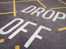 Drop off point Stock Image